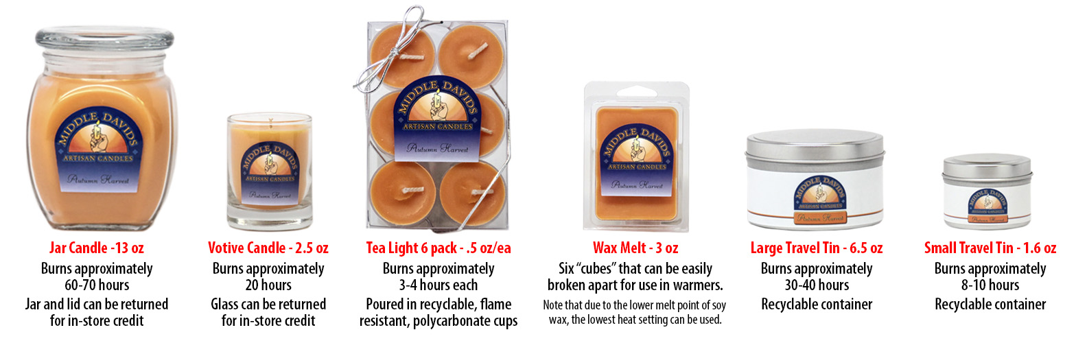 shop-header candle sizes
