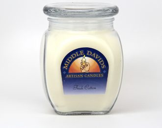 Candles:  Fresh Cotton